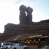 Twin Rocks cafe near Moab, Utah