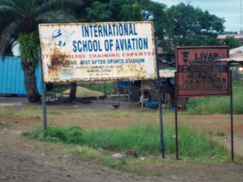 Learn to fly in Monrovia, Liberia!