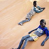 Kids sand surfing on the snake-ridden dunes of Mali