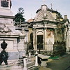 In search of Evita's tomb in the Recoleta cemetery in Beunos Aires, Argentina.