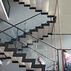 Feature staircase on the DIS architectural tour through Jutland, Denmark