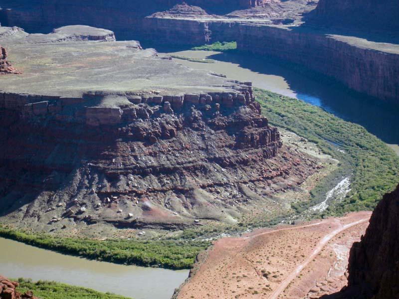 Green River overlook, Utah