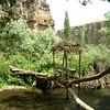 Picturesque hike through Ilhara canyon in Kapydokia, Turkey.