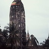 Classic monoliths in Thailand's ancient capital; Ayuthaya.