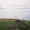 Abandoned baby in Amassalik, Eastern Greenland.