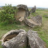The Plain of Jars in Lao.