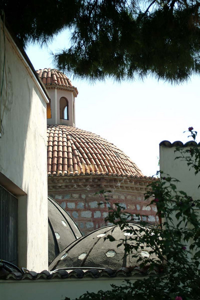 Roofline detail in the museum grounds in Selcuk Turkey.