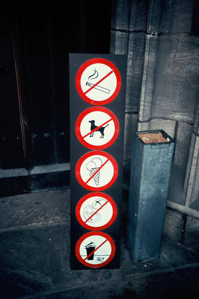 You can't do anything in Luzern, Switzerland!