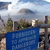 "Approaching the ""Safe Fence"" however, was perfectly acceptable! (Mount Bromo, East Java Indonesia)."