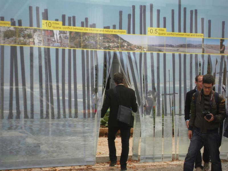 Pavilion entrance at the 2009 Venice Architectural Biennale