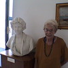 An American Lady abroad at the Vatican Museum in Rome, (2 of them!)
