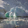Icebergs in Neko Harbour, Mainland Antarctic Peninsula