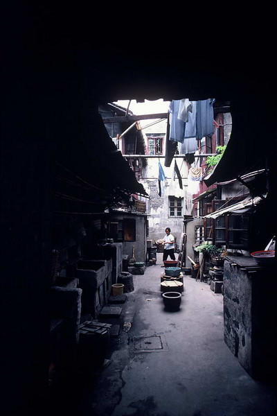 """""""Spare Parts"""" market in Guangzhou China."""