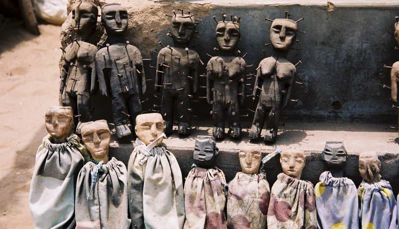 Voodoo market outside of Lome, TOgo