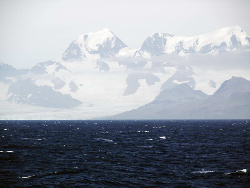 At sea between Stromness & Grytviken, South Georgia, British Sub-Antarctic Territory