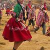 Faux Morris dancers at Sacsayhuanman during the Inti Raymi celebration in Cuzco, Peru