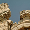 Detail of Hadrian's arch at the temple of Aphrodisias in central Turkey.