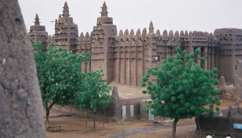 The grand mosque in Djenne