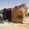 Roadside tea house in the middle of the barren desert between Djanet and Agadez, Algeria