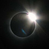 "The ""diamond ring"" of the total solar eclipse above Bilma, Niger."