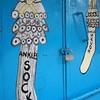 Creative shopfront in Monrovia, Liberia.