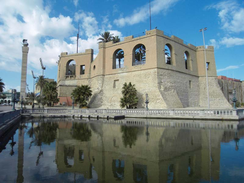 The state museum in Tripoli, Libya.