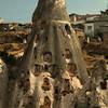 Uchisar castle in Kapydokia Turkey