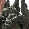 The proletariat cast in bronze in Pyongyang, Democratic People's Republic of Korea (North).