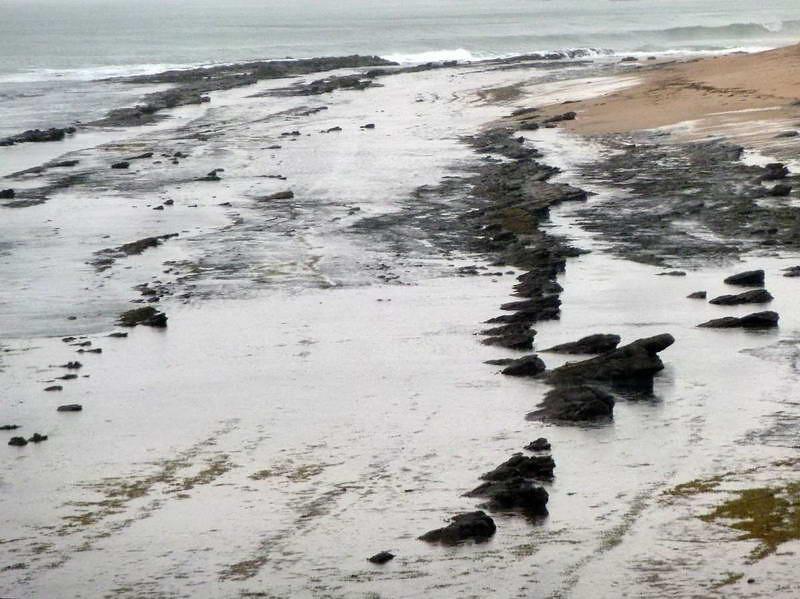 Dramaitc beach along the Great Ocean Road, Victoria, Australia