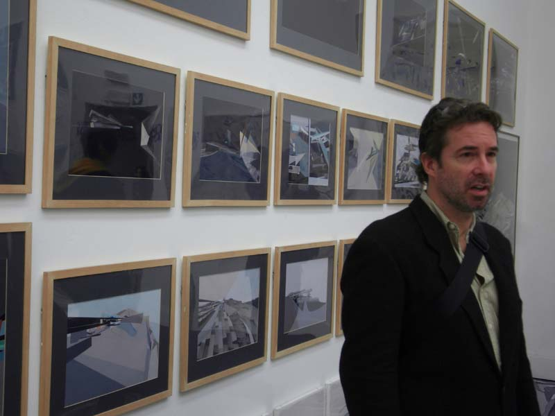 Flip espousing at the 2009 Venice Architectural Biennale