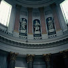 Neo-classical rotunda in West Berlin Germany before the fall.