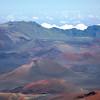 Ash Cones in Volcanic Crater, Haleakala, Maui, Hawaii