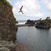 Cliff Jumping into Venus Pool near Kipahulu, Maui, Hawaii