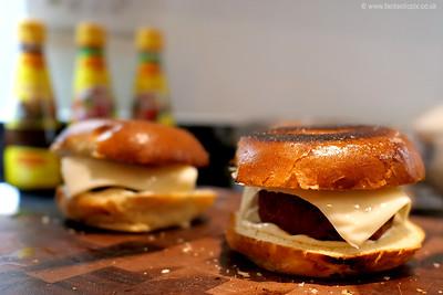 Gourmet veggie burger