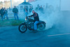 Cape Cod Harley Davidson burnout
