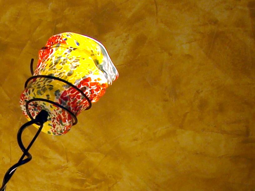 Lamp at CIA