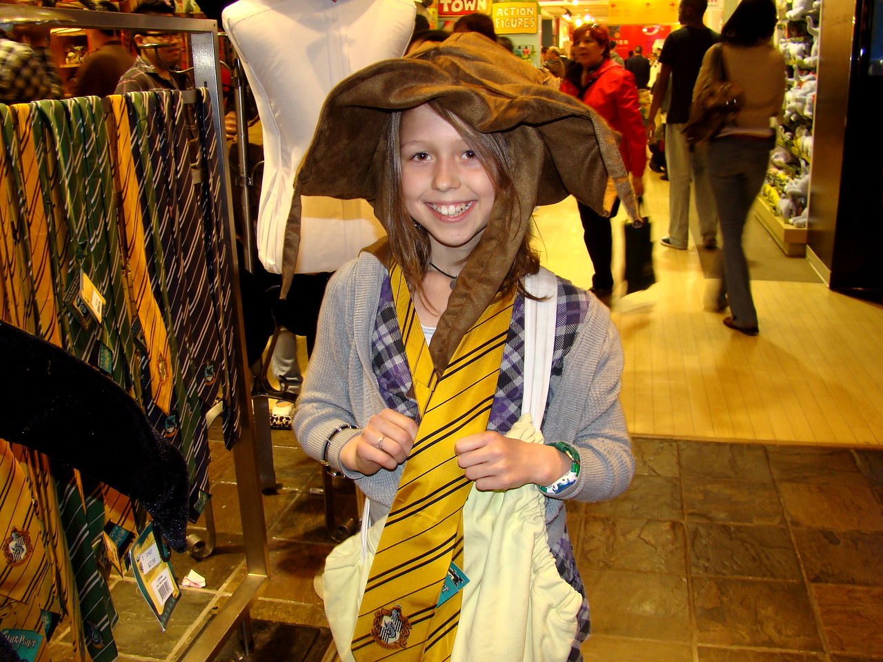 "The Sorting Hat says, ""Gryffindor""!"