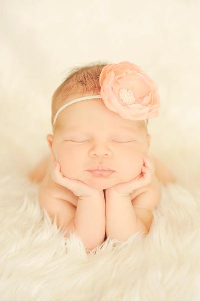 Infant Holding Head