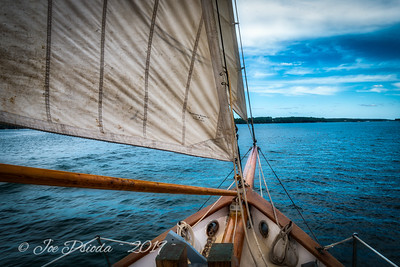 Sailing Aboard the Schooner Wendameen
