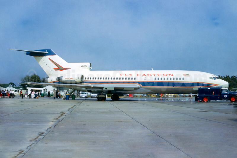Boeing 727 delivery livery, delivered December 12, 1963 - Best Seller