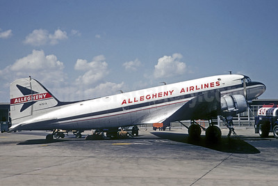 Allegheny Airlines (1st) Douglas C-47A-DL (DC-3) N151A (msn 9471) CLE (Jacques Guillem Collection). Image: 906686.