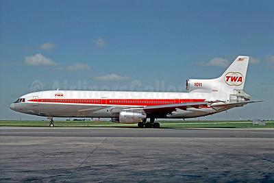TWA (Trans World Airlines) Lockheed L-1011-385-1-15 TriStar 100 N31031 (msn 1115) CDG (Christian Volpati). Image: 907087.