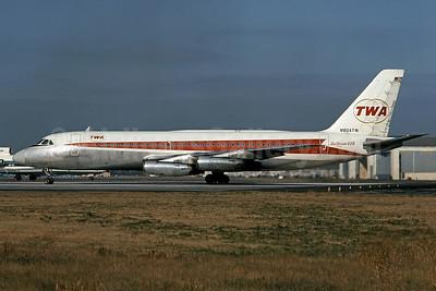 TWA (Trans World Airlines) Convair 880-22-1 N804TW (msn 5) PHL (Bruce Drum). Image: 101438.