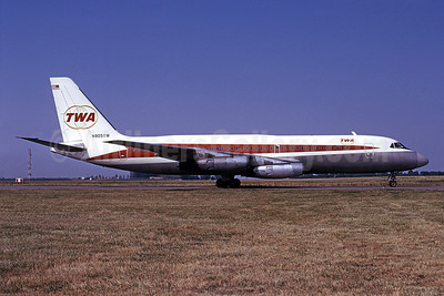 TWA (Trans World Airlines) Convair 880-22-1 N805TW (msn 6) STL (Bruce Drum). Image: 101445.