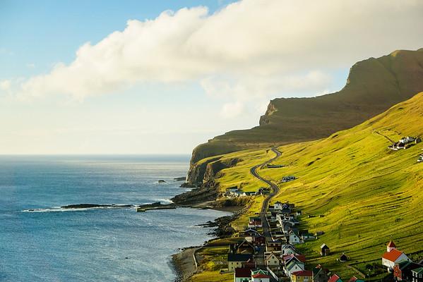 Faroe Island Town