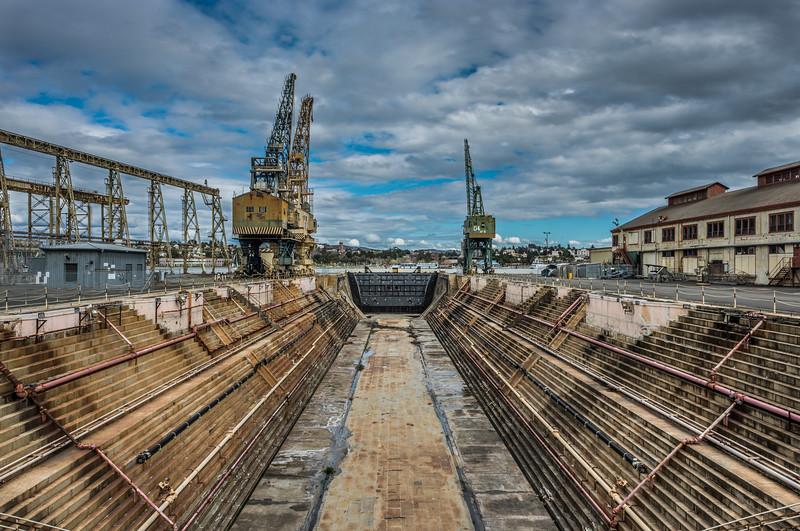 Submarine Alley Mare Island