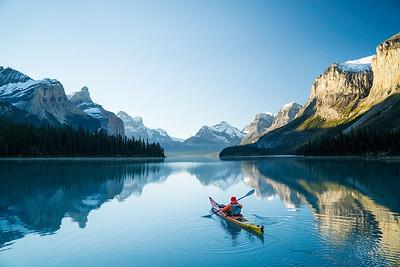 Lake Maligne, Canada