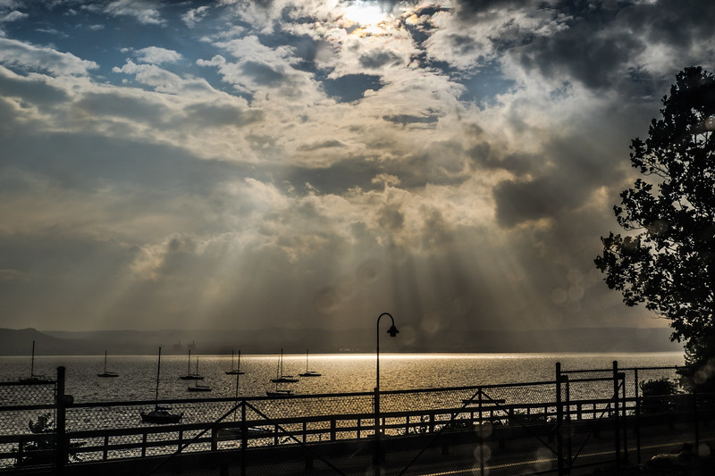 Rays and Rain