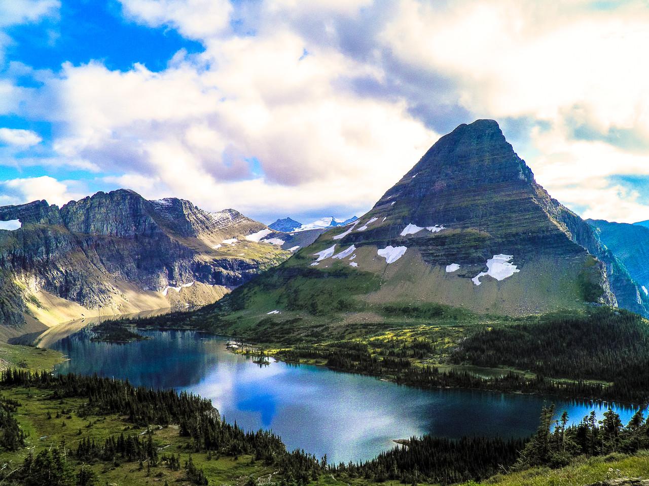 Breath-taking views in Glacier National Park