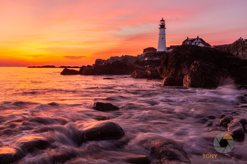 Tides at Portland Head Light